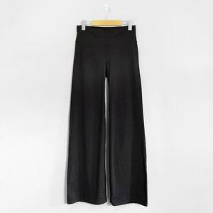 ATHLETA Black High Rise Wide Flare Leg Pants